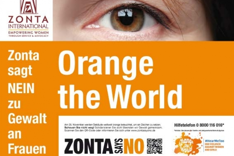 Zonta | Orange The World